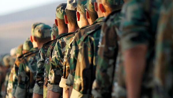 Rekruti syrské armády - Sputnik Česká republika
