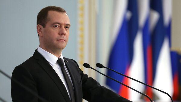 Ruský premiér Dmitrij Medveděv. Ilustrační foto. - Sputnik Česká republika