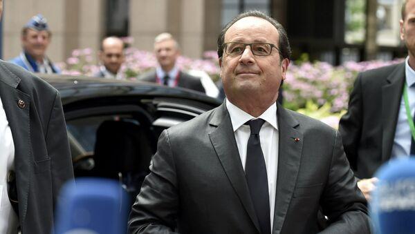 Francouzský prezident Francois Hollande - Sputnik Česká republika