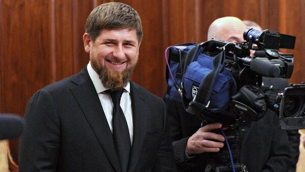 Úřadující prezident Čečenska Ramzan Kadyrov - Sputnik Česká republika