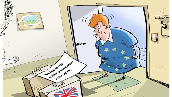 Sbohem, EU! - Sputnik Česká republika