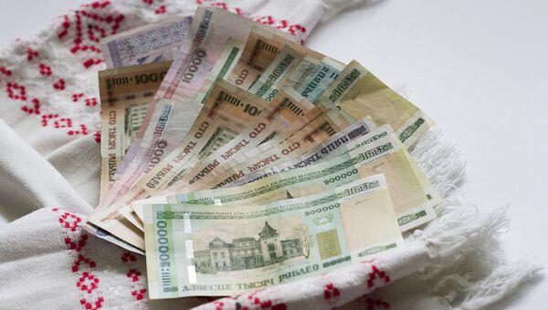 Běloruské bankovky - Sputnik Česká republika
