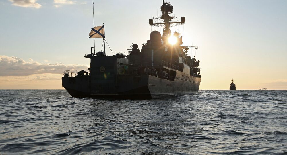 Ruská strážní loď Jaroslav Moudrý