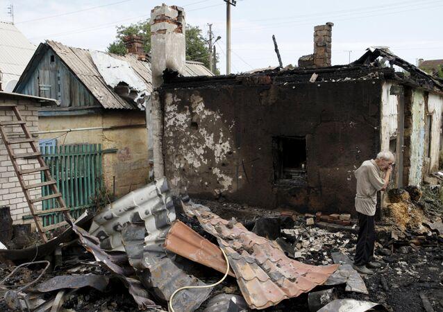 Situace v Donbasu. Ilustrační foto