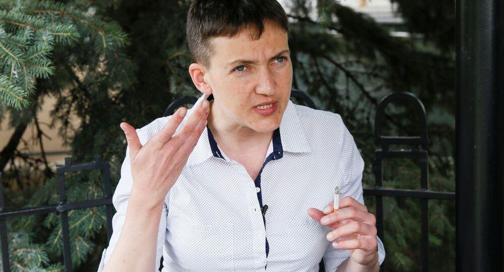 Poslankyně Nejvyšší rady Naděžda Savčenková
