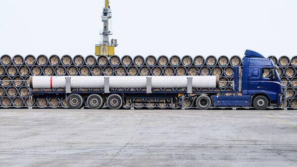 Stavba plynovodu Turecký proud - Sputnik Česká republika