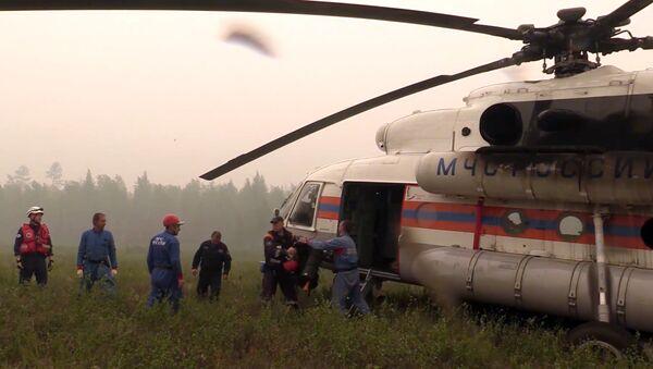 Pátrací operace na místě pádu letadla Il-76 - Sputnik Česká republika