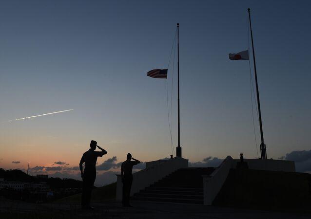 Američtí mariňáci na Okinawě