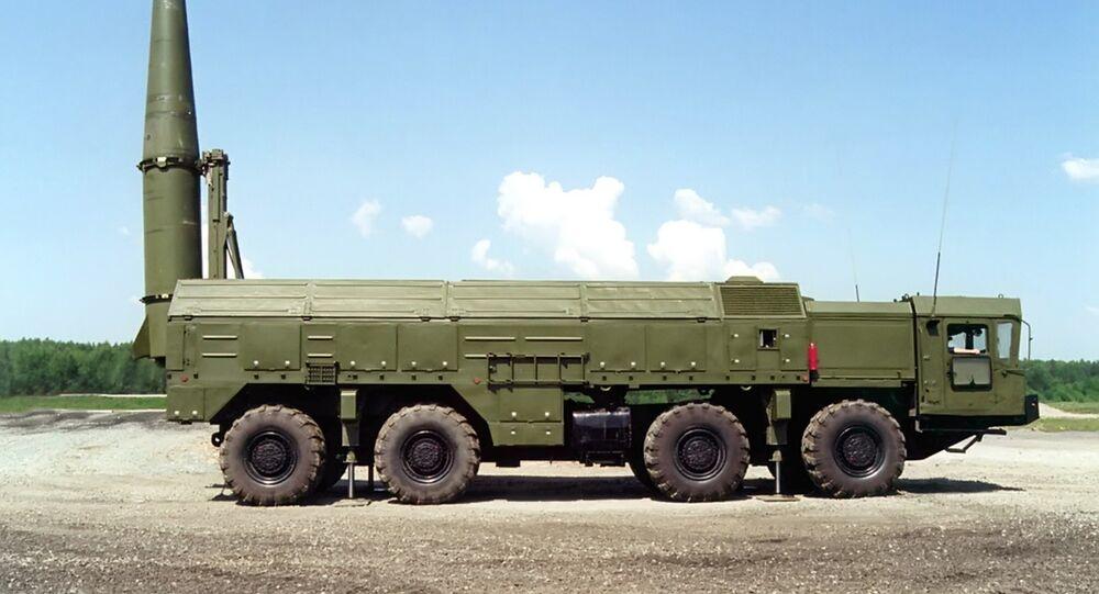 Raketový komplex Iskander