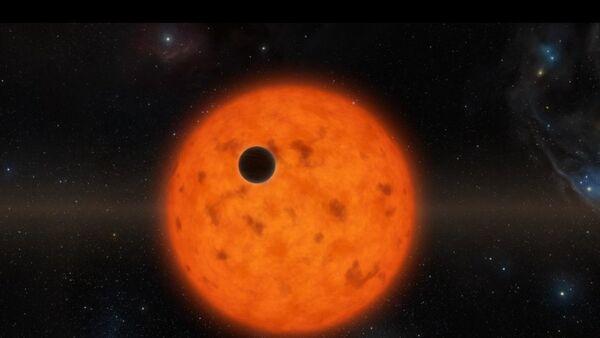 Planeta na pozadí mladé hvězdy - Sputnik Česká republika
