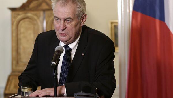 Miloš Zeman - Sputnik Česká republika