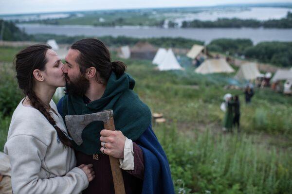 Středověká Rus: festival Abalacké pole - Sputnik Česká republika