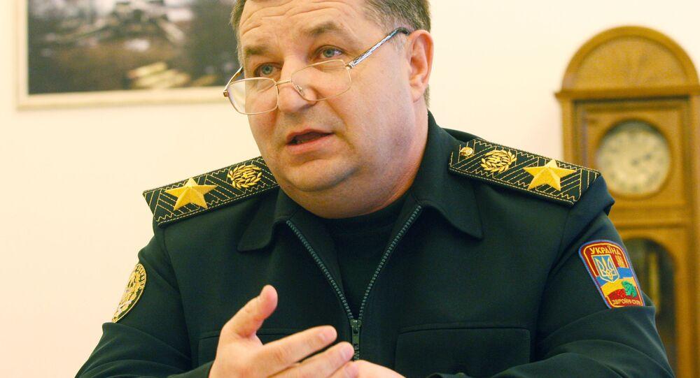 Ukrajinský ministr obrany Stepan Poltorak