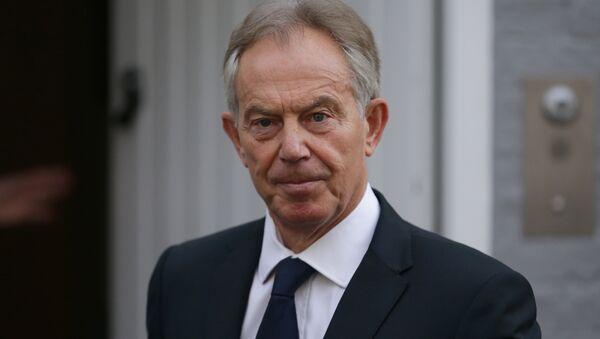 Bývalý britský premiér Tony Blair - Sputnik Česká republika
