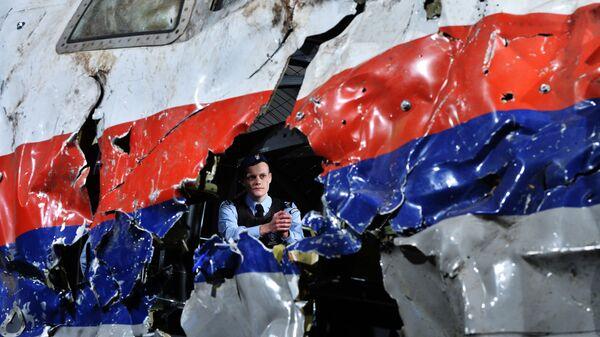 Rekonstrukce pádu Boeing 777 Malaysia Airlines (let MH17) - Sputnik Česká republika