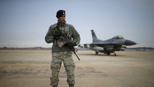 Americký voják v Jižní Koreji - Sputnik Česká republika