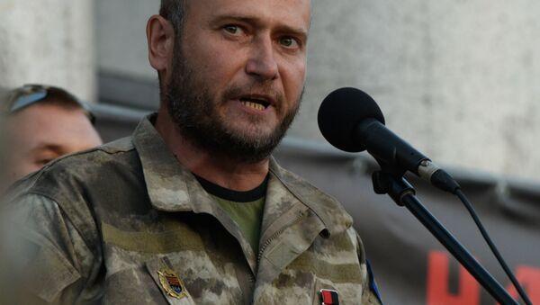 Bývalý vůdce Pravého sektoru Dmytro Jaroš - Sputnik Česká republika