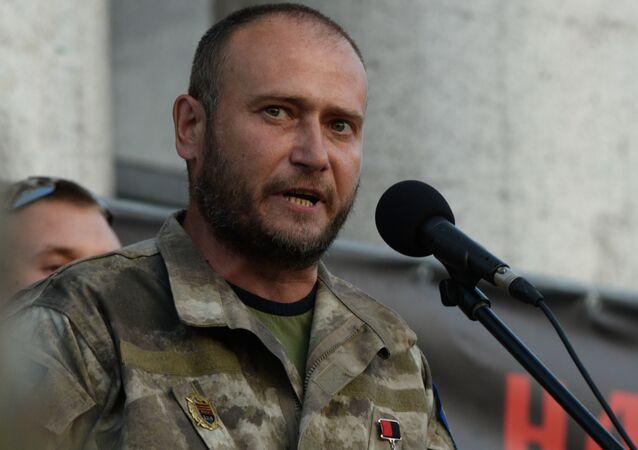 Bývalý vůdce Pravého sektoru Dmytro Jaroš