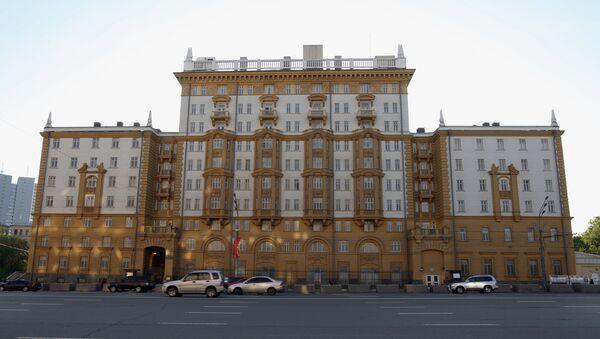 Americké velvyslanectví v Moskvě - Sputnik Česká republika