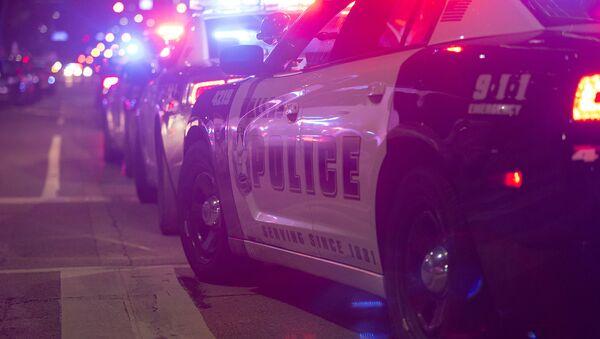 Policie na místě střelby v Dallasu - Sputnik Česká republika