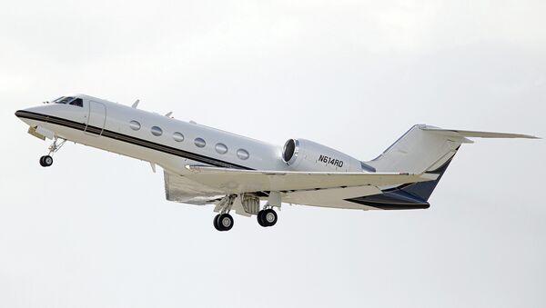 Gulfstream-IV - Sputnik Česká republika