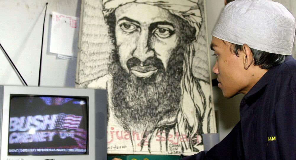 Portrét Usámy bin Ládina