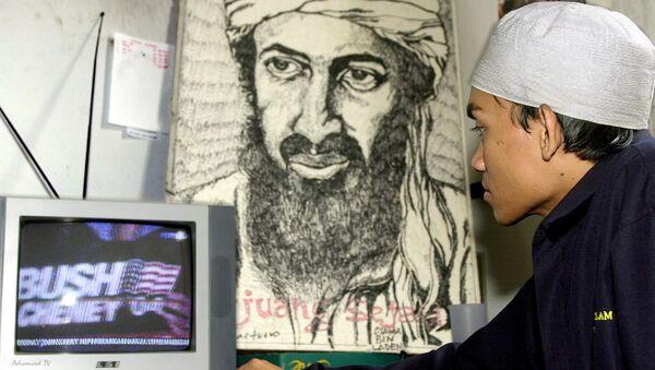 Portrét Usámy bin Ládina - Sputnik Česká republika