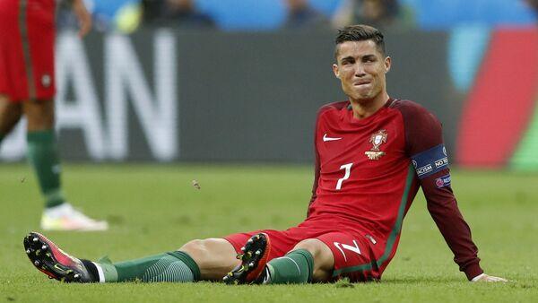Cristiano Ronaldo beim Spiel Portugal-Frankreich - Sputnik Česká republika