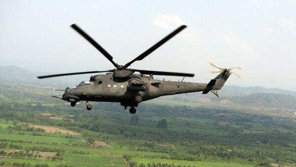 Vrtulník Mi-35M - Sputnik Česká republika