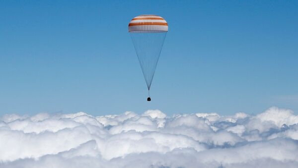 Přistávací kapsule lodi Sojuz TMA-11M - Sputnik Česká republika