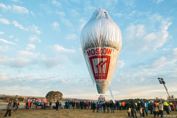 Ruský cestovatel Fjodor Koňuchov se vydal na cestu kolem světa v balónu - Sputnik Česká republika
