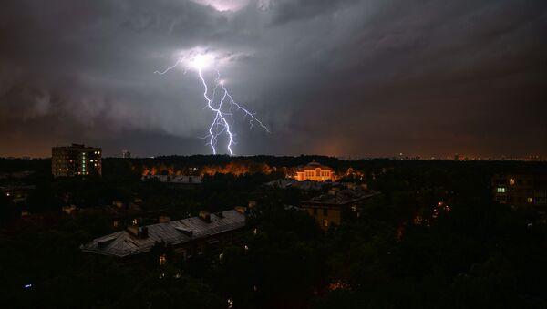 Bouřka v Moskvě - Sputnik Česká republika