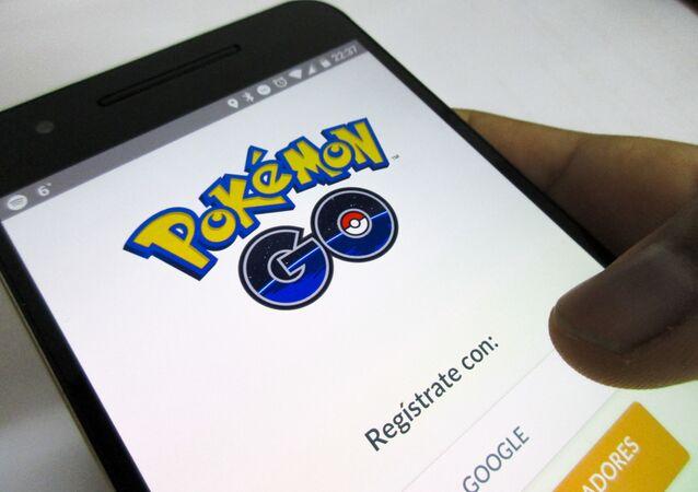 Pokemon Go na mobilním zařízení