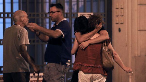Lidé na nábřeží des Anglais v Nice - Sputnik Česká republika