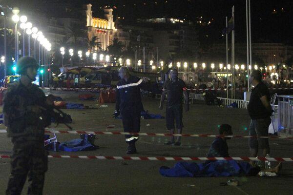 Terroristický útok v Nice - Sputnik Česká republika