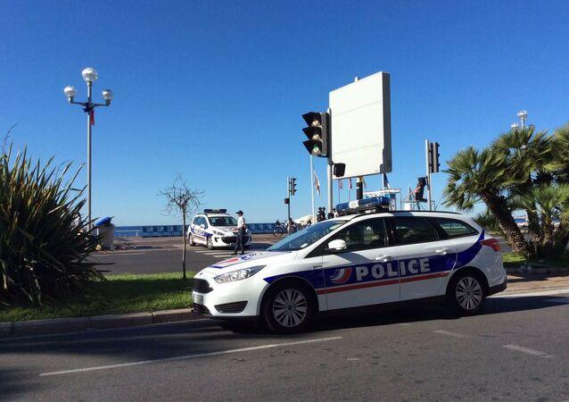 Francouzská policie v Nice