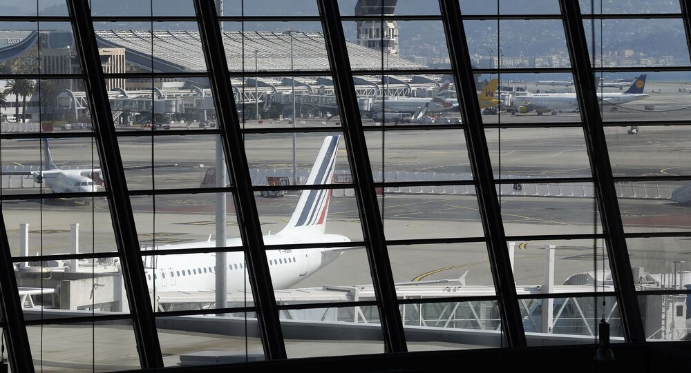Letiště v Nice