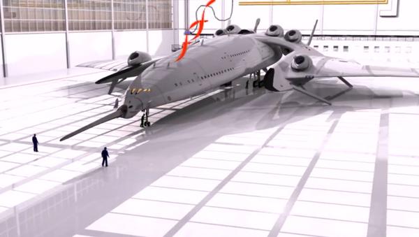 Bylo anoncováno nadzvukové letadlo s jaderným motorem - Sputnik Česká republika