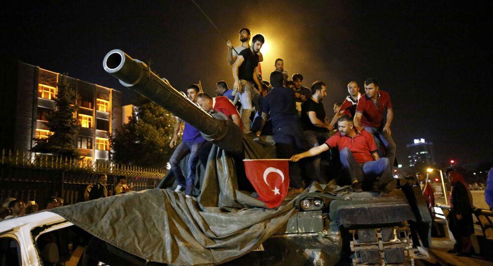 Pokus o vojenský převrat v Ankaře