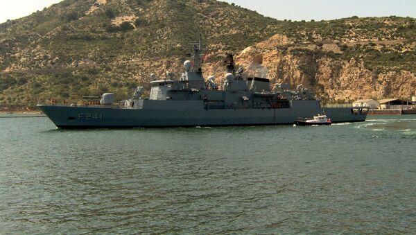 Turecká fregata - Sputnik Česká republika