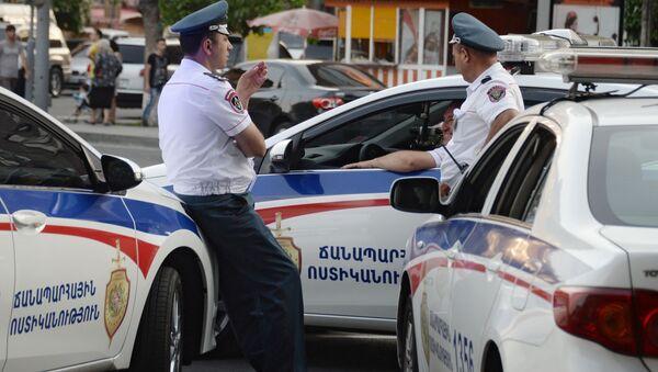 Policie v Jerevanu - Sputnik Česká republika