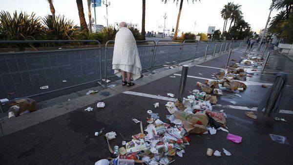 Promenade des Anglais v Nice po teroristickém útoku - Sputnik Česká republika