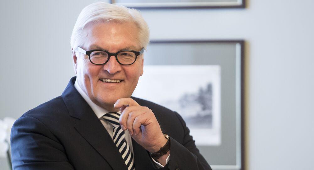 Německý ministr zahraničních věcí Frank-Walter Steinmeier