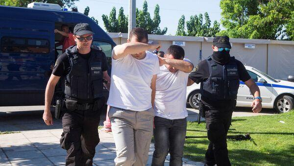 Turečtí vojáci, kteří požádali o azyl v Řecku - Sputnik Česká republika