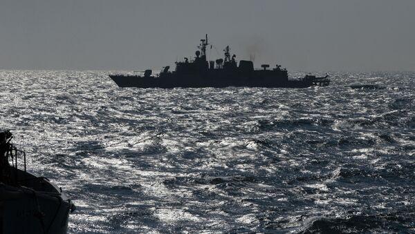 Turecká fregata Turgutreis v Černém moři - Sputnik Česká republika