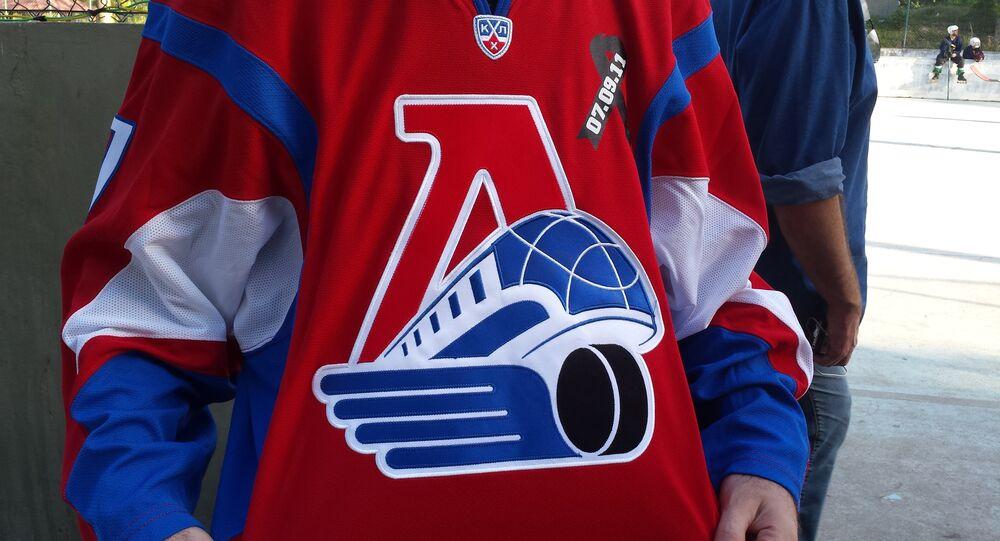 Ruský dárek: fanoušci Lokomotivu Jaroslavl odeslali dres Locomotivu Rio