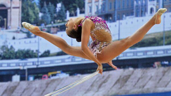 Ruská moderní gymnastka Margarita Mamunová - Sputnik Česká republika