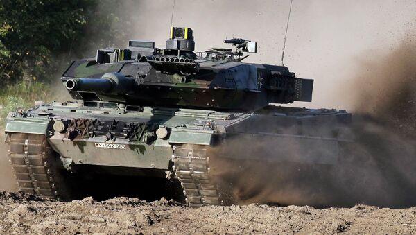 Tank Leopard. Ilustrační foto - Sputnik Česká republika