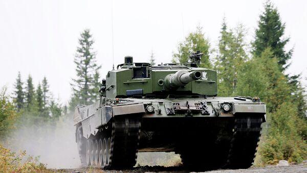 Tank Leopard 2 A4 - Sputnik Česká republika