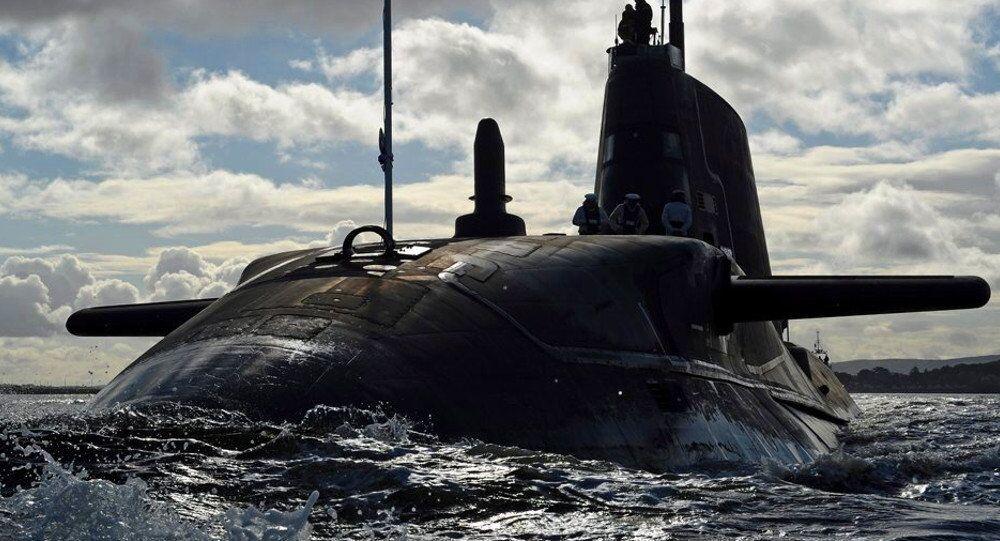 Britská atomová ponorka Ambush. Ilustrační foto